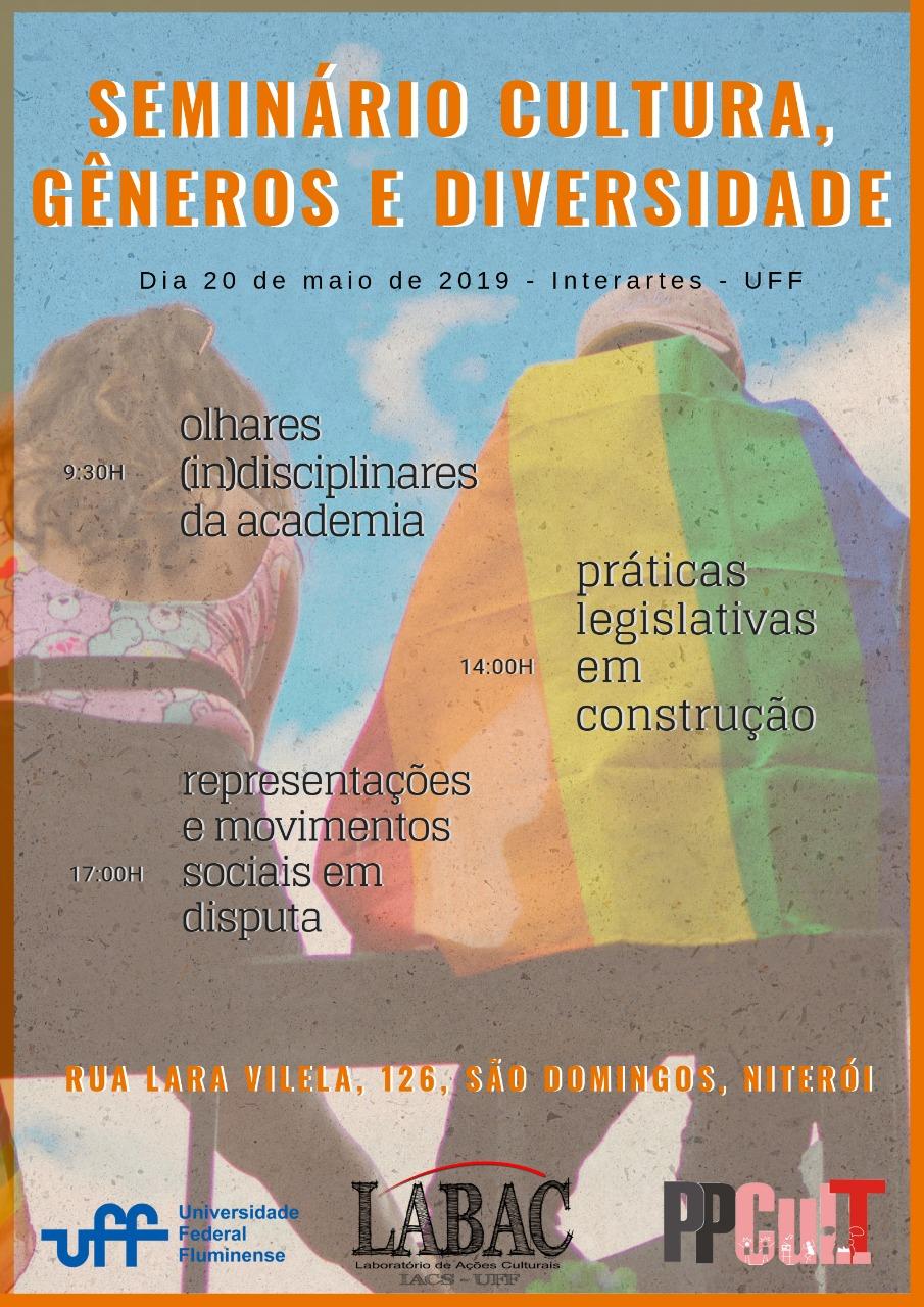 Seminário - Cultura, Gêneros e Diversidade