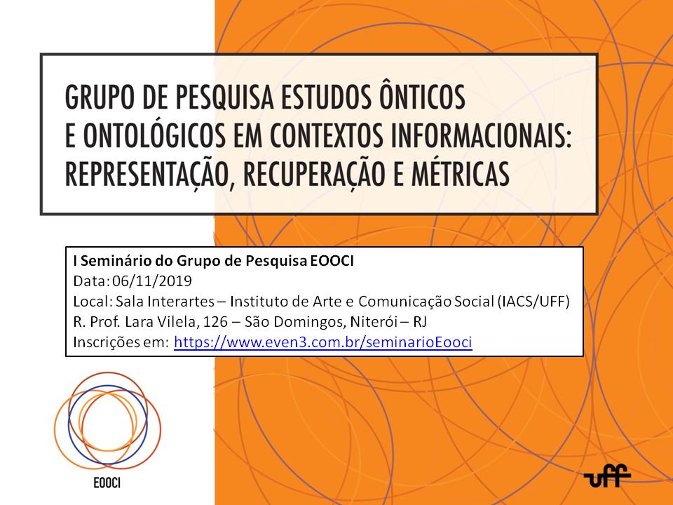 I Seminario do Grupo de Pesquisa EOOCI